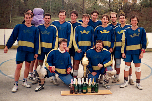 Vítězství v boxlakrosové lize 1994