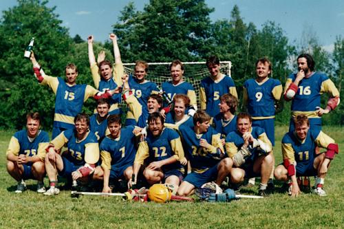 Vítězství ve fieldlakrosové lize 1994